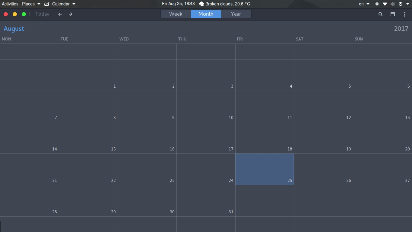Calendar Language Won't Change On Ubuntu Gnome 17.04 - Ask Ubuntu_Utf 8 Calendar Icon