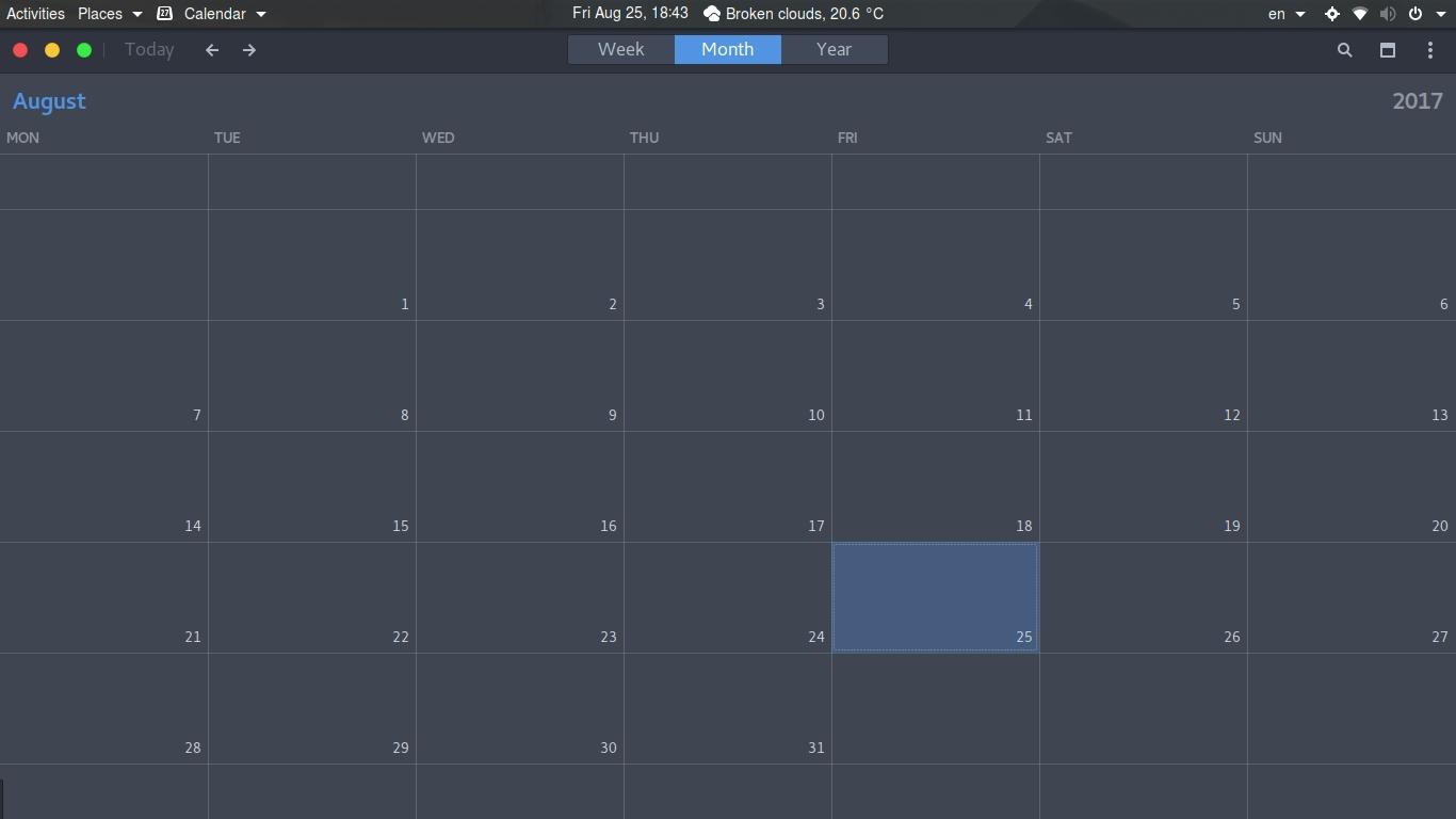 Calendar Language Won't Change On Ubuntu Gnome 17.04 - Ask Ubuntu_Utf 8 Calendar Icon