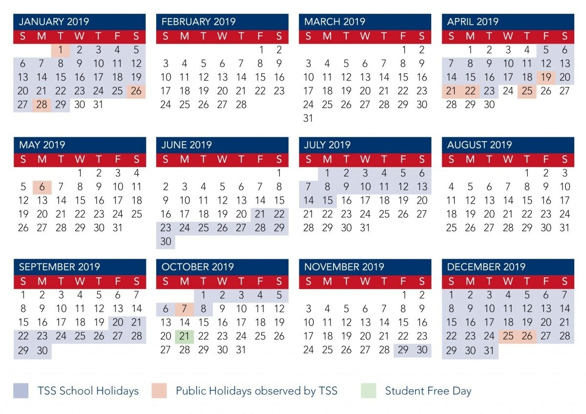 Calendar | The Southport School_Term 4 School Calendar
