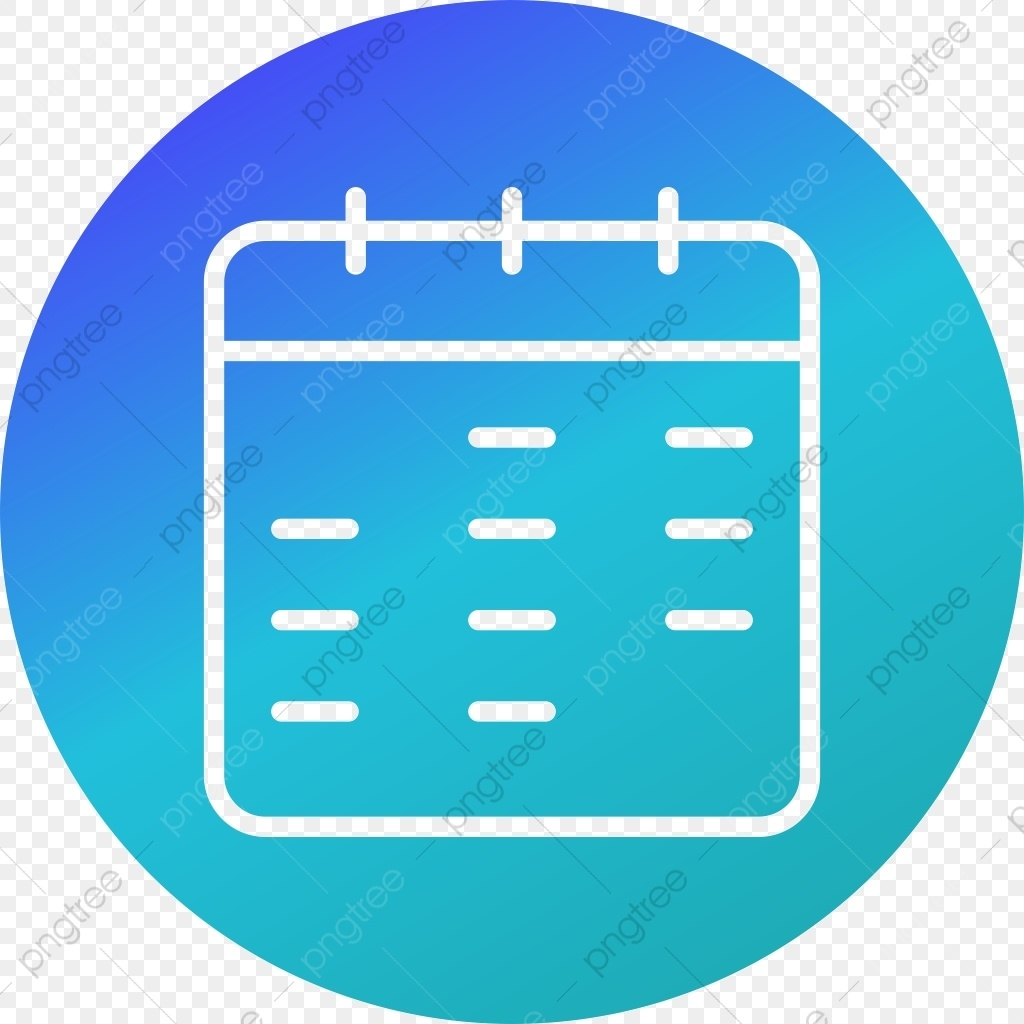 Calendar Vector Icon, Calendar Icon, Date Icon, Event Icon Png And_Calendar Icon Png Blue