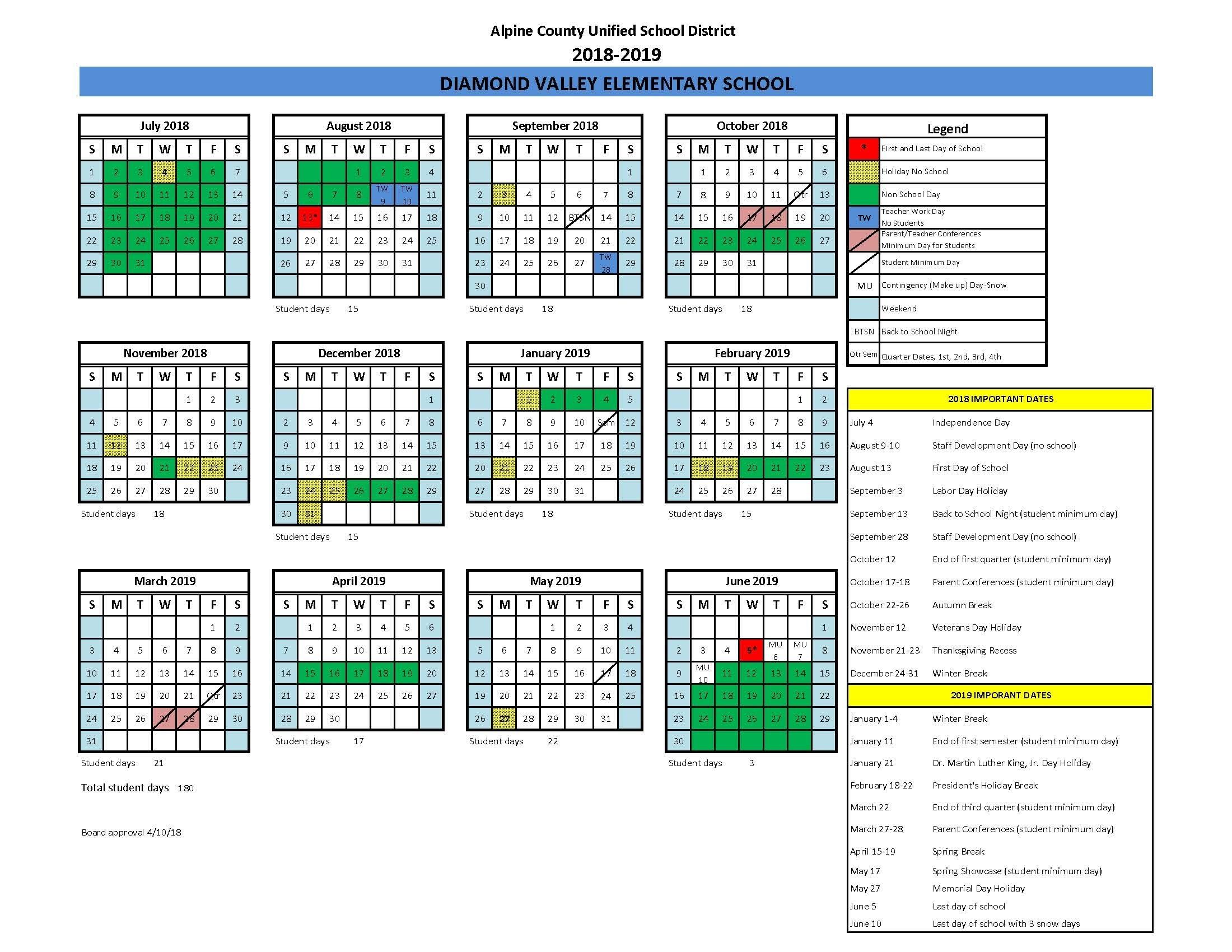 Calendar_Calendar Alpine School District