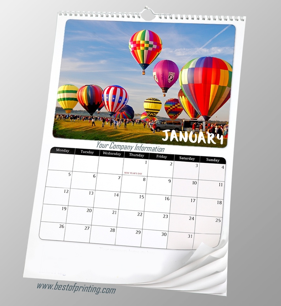 Calendars_Calendar Printing And Binding
