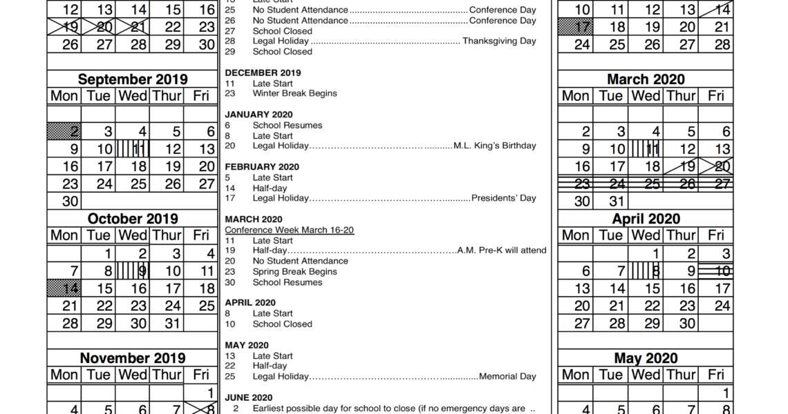 Ccsd 46 - District Calendar_U-46 School Calendar 2020