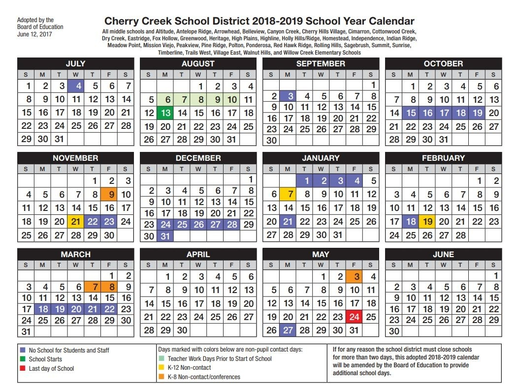 Cherry Creek School Year Calendar  </p>   </div>        <br>     <div class=