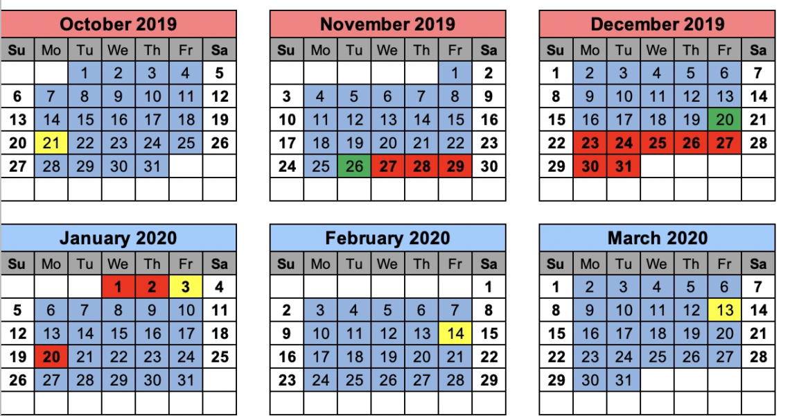 Chesterfield County School District_School Calendar Chesterfield County