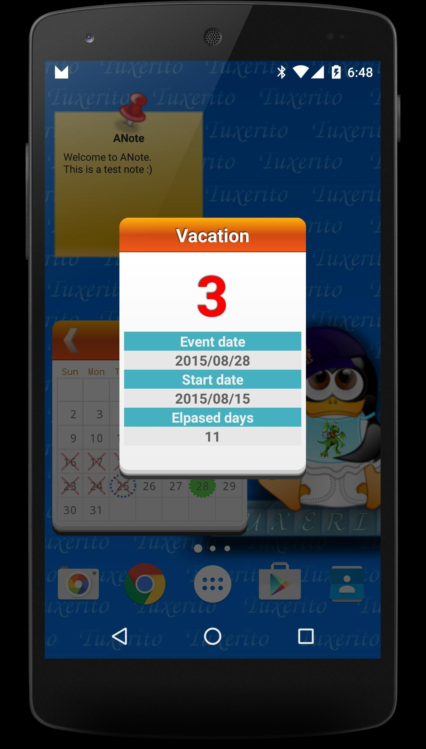 Countdown Calendar For Android - Apk Download_Countdown Calendar For Android
