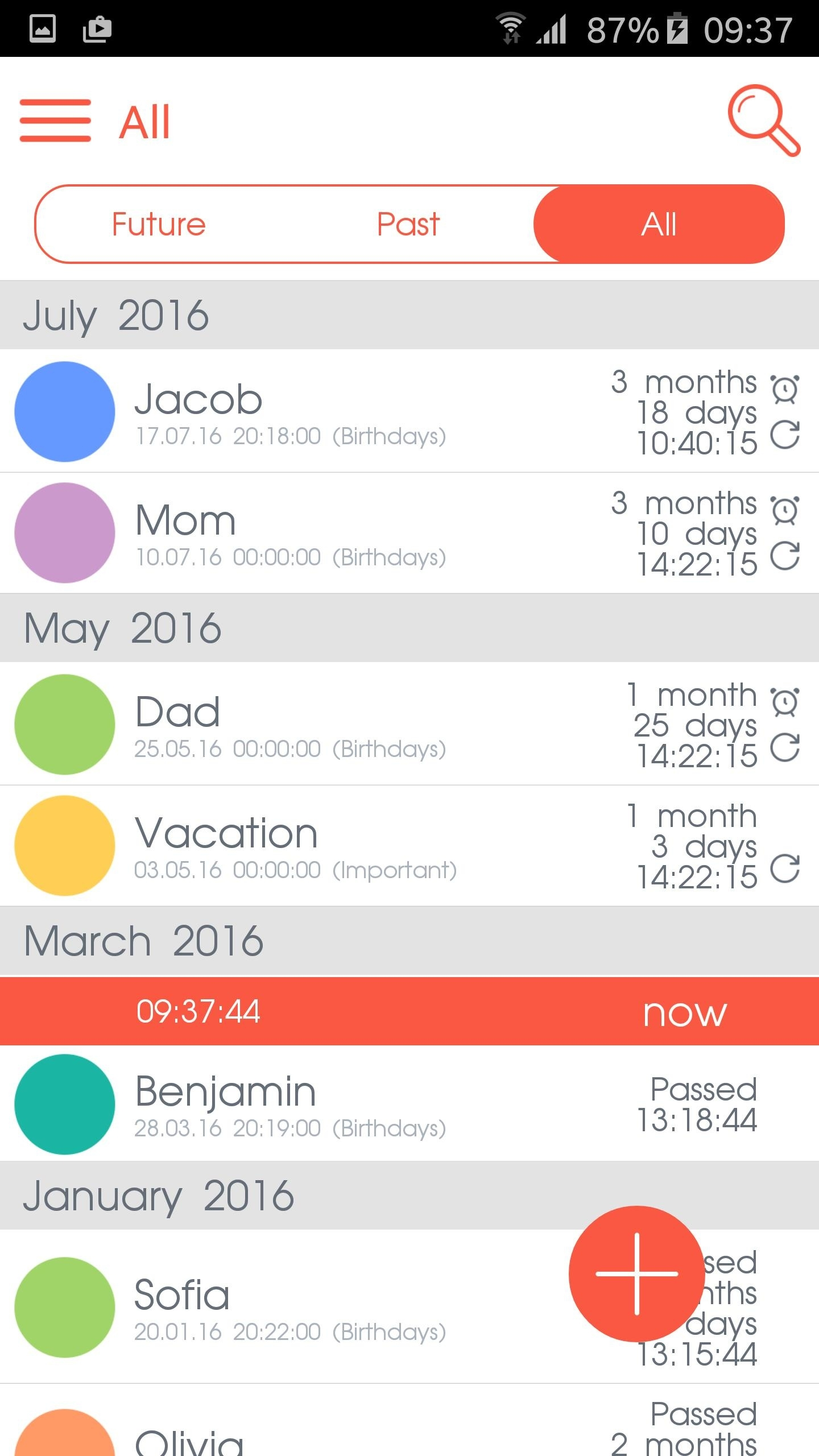 Countdown Calendar For Android - Apk Download_Countdown Calendar On Android