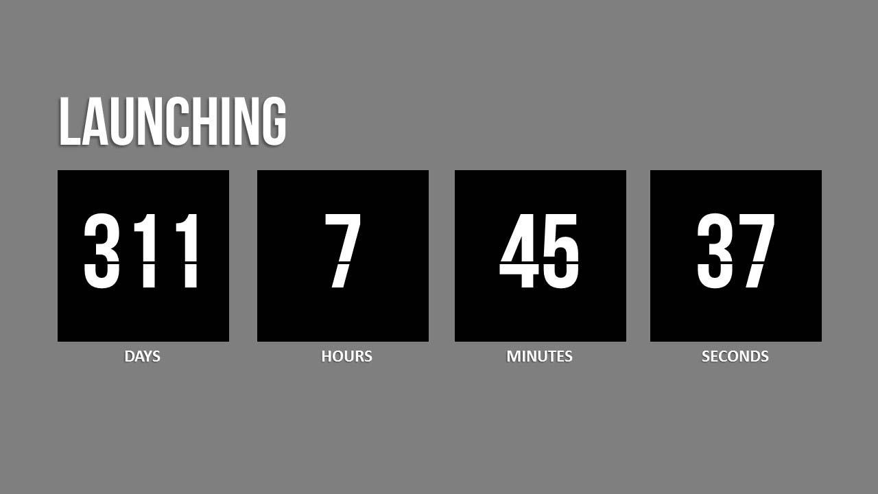Countdown Calendar In Powerpoint • Printable Blank Calendar Template_Countdown Calendar In Powerpoint