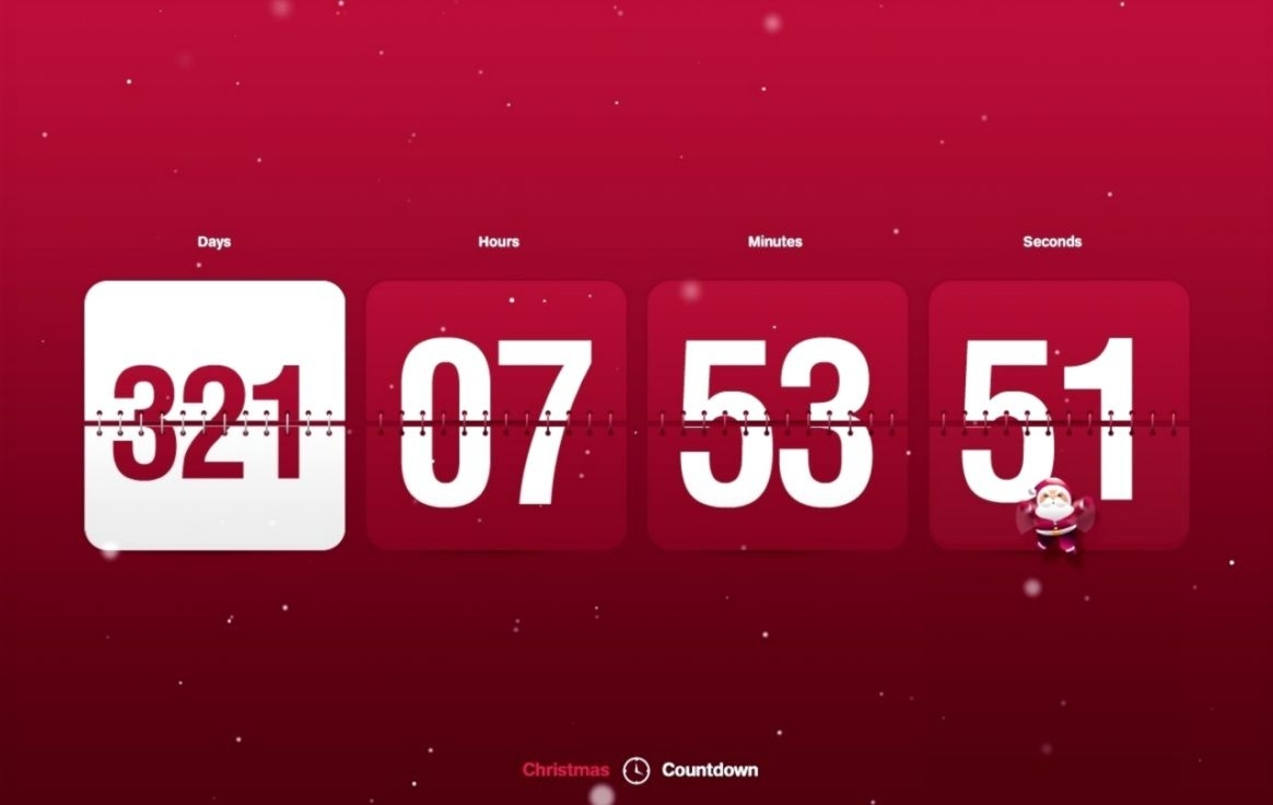Countdown Clock Desktop Background Free | Bronze Wallpapers_Countdown Calendar Screensaver Free Download