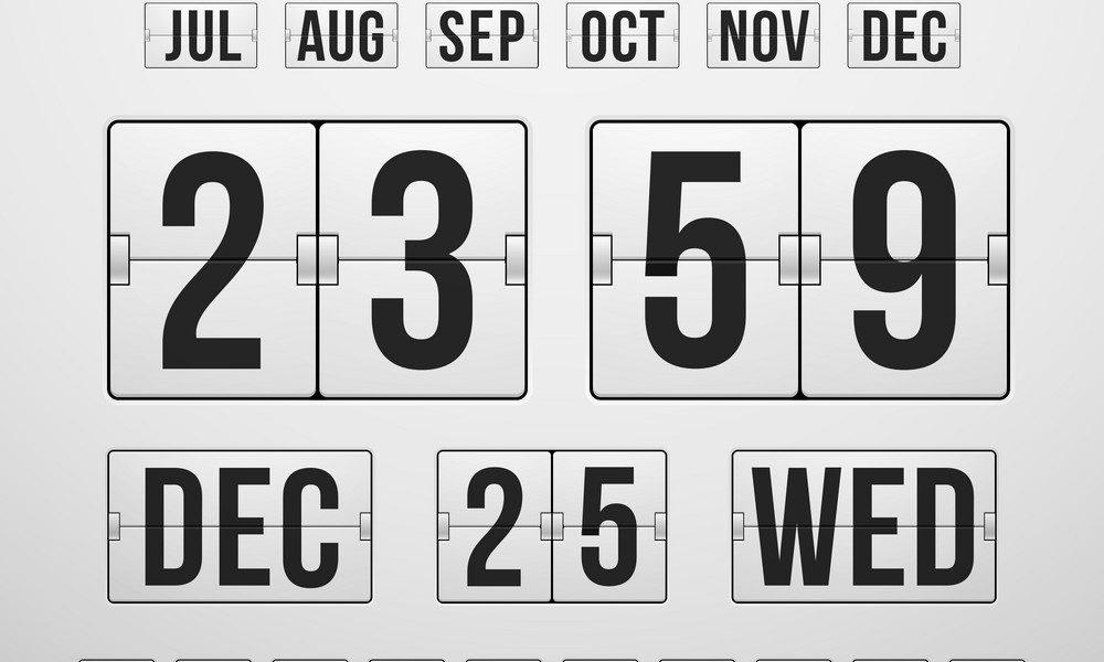 Countdown Timer And Date Calendar Scoreboard_Calendar Countdown Between Dates