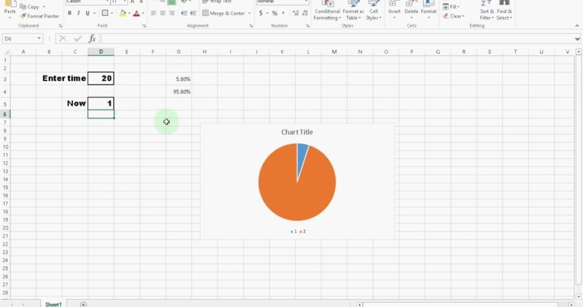 Create A Awesome Countdown Timer Clock In Microsoft Excel #itfriend #diy_Making A Countdown Calendar On Excel