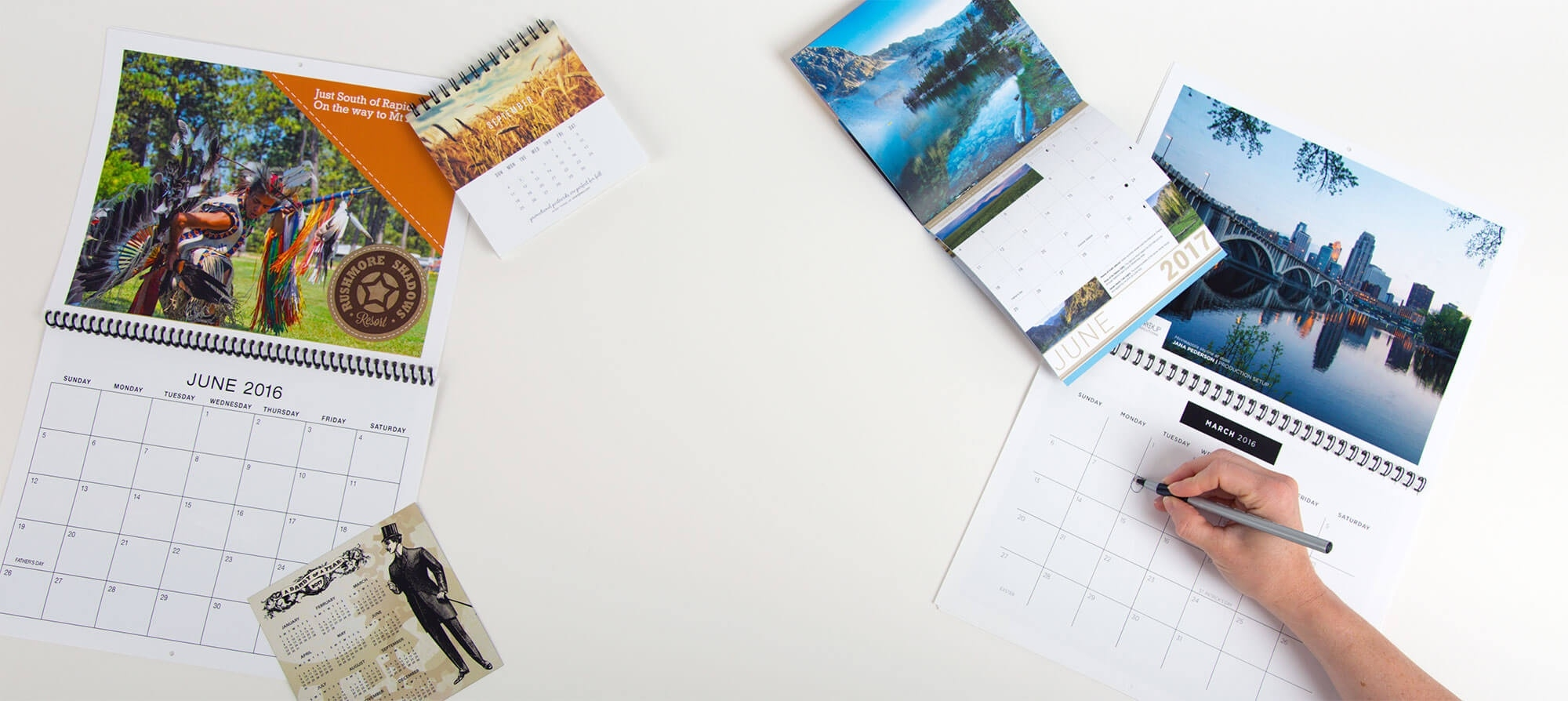 Custom Calendar Printing | Personalized Calendars | Smartpress_Calendar Printing Press Near Me