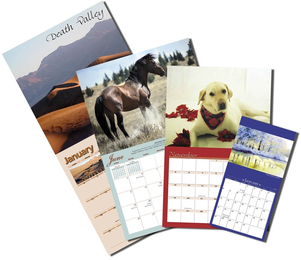 Custom Wall Calendars - Yearbox Calendars_Calendar Printing And Binding
