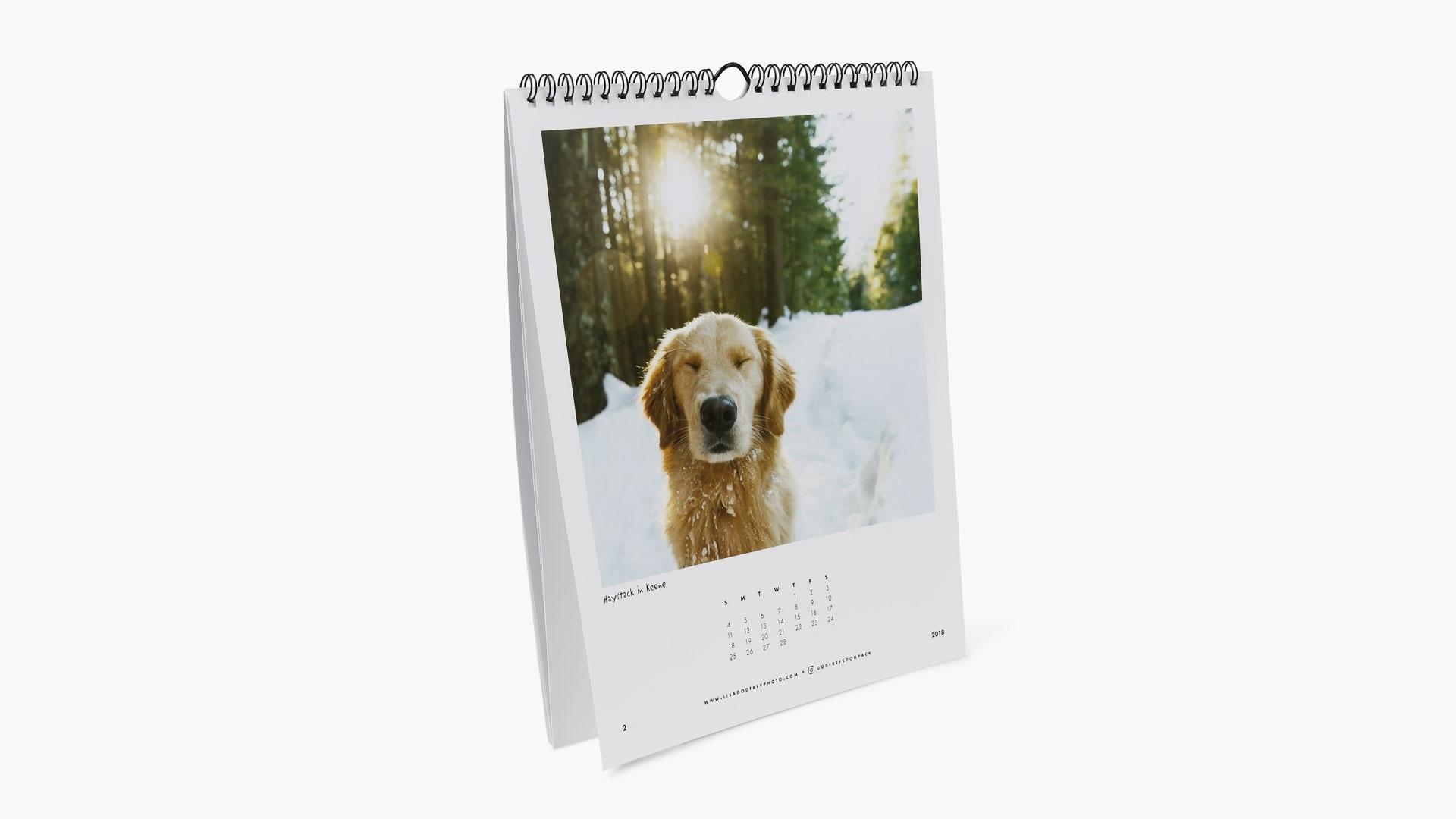 Custom Wire Coil Calendars_Custom Calendar Printing Hong Kong