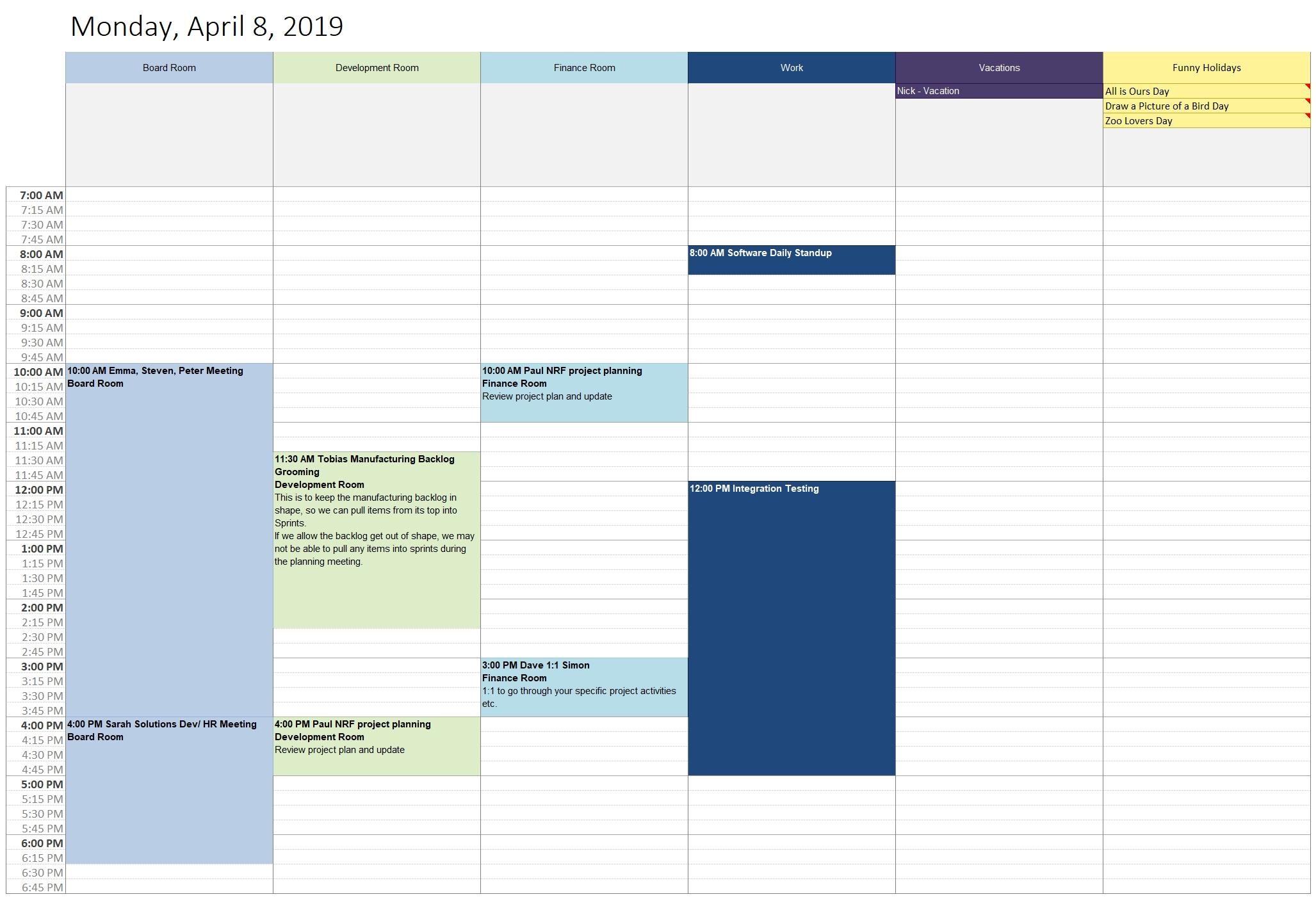 Customize And Print Calendar Templates In Excel And Word Outlook_Outlook Calendar Printing Templates