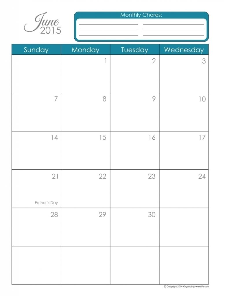 Dashing 8 X 11 Blank Calendar Page • Printable Blank Calendar Template_8 X 11 Blank Calendar Template