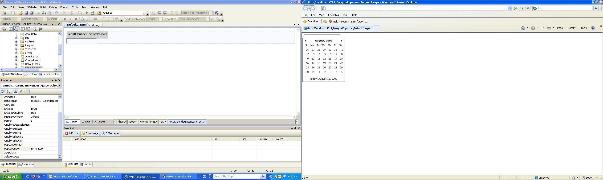 Dashing Ajax Calendar Extender Blank • Printable Blank Calendar Template_Ajax Calendar Extender Blank