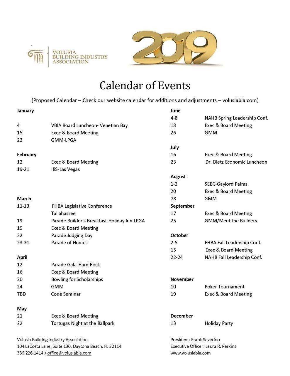 Dashing School Calendar Volusia County 2019 • Printable Blank_School Calendar Volusia County