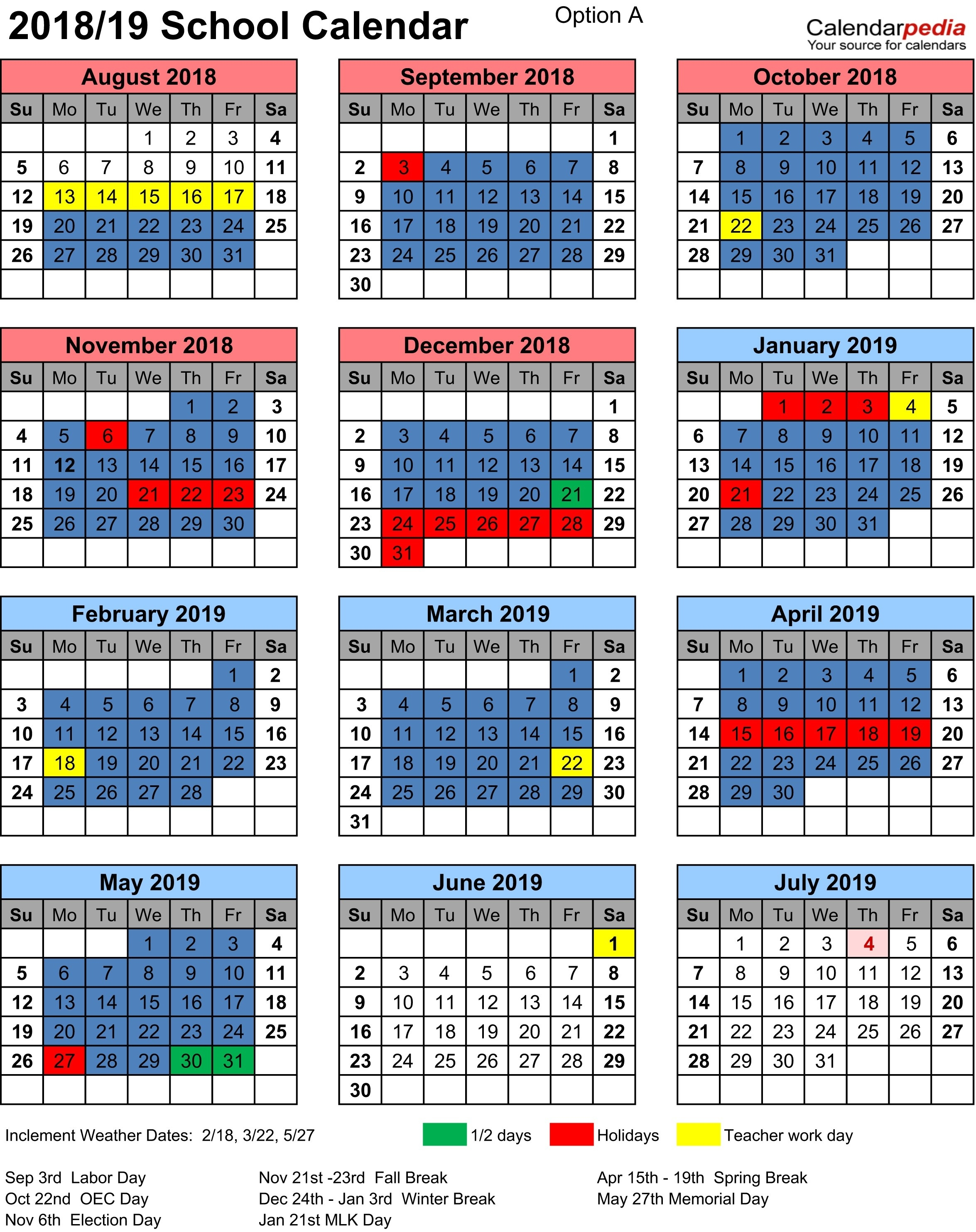Denton Isd Calendar 2018 Download For No Charge – Calendaro.download_School Calendar Denton Isd