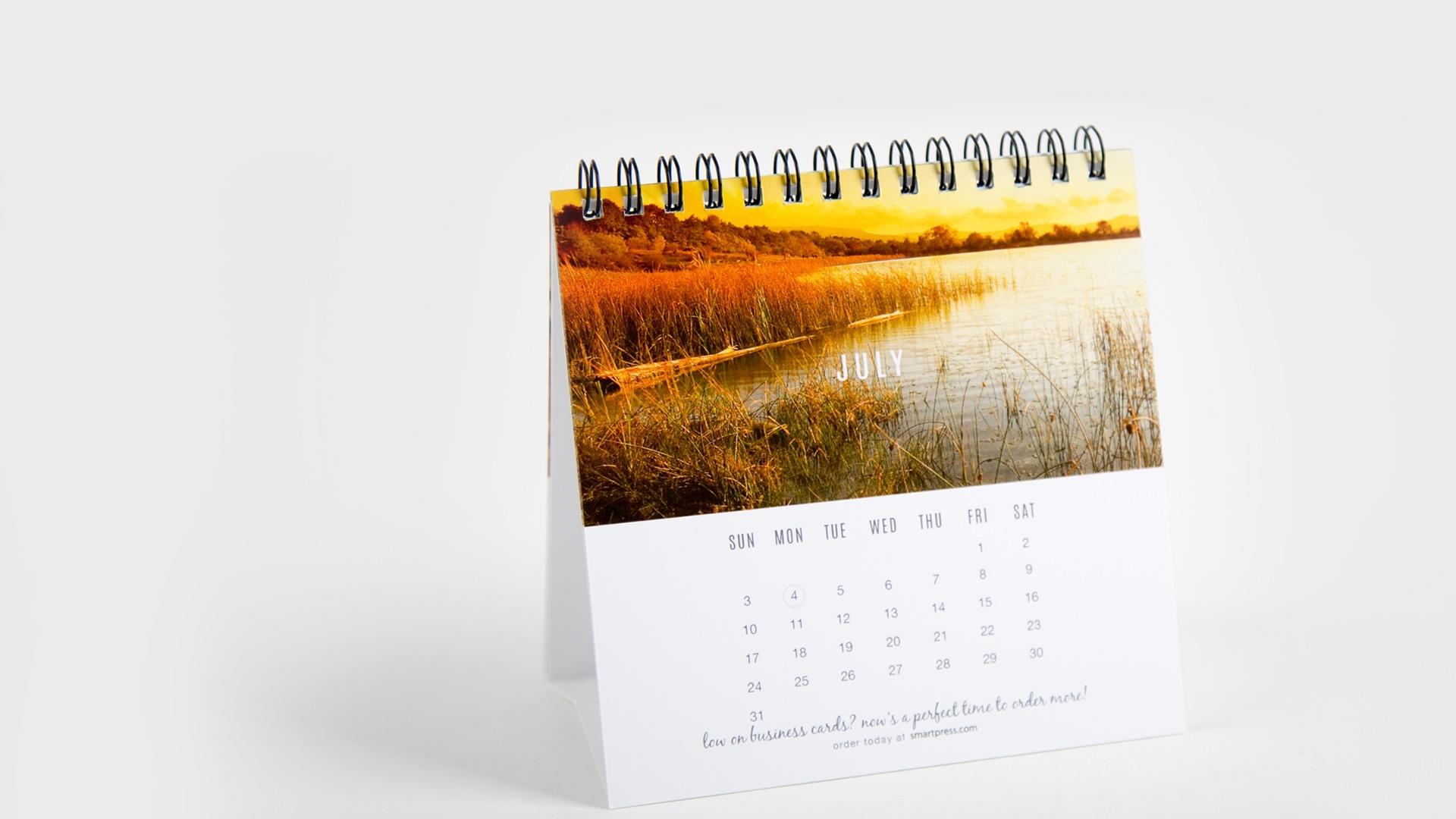 Desk Calendar Printing_Calendar Printing For Business