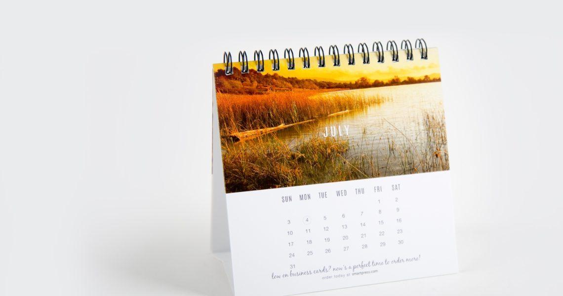 Desk Calendar Printing_The Calendar Printing Company