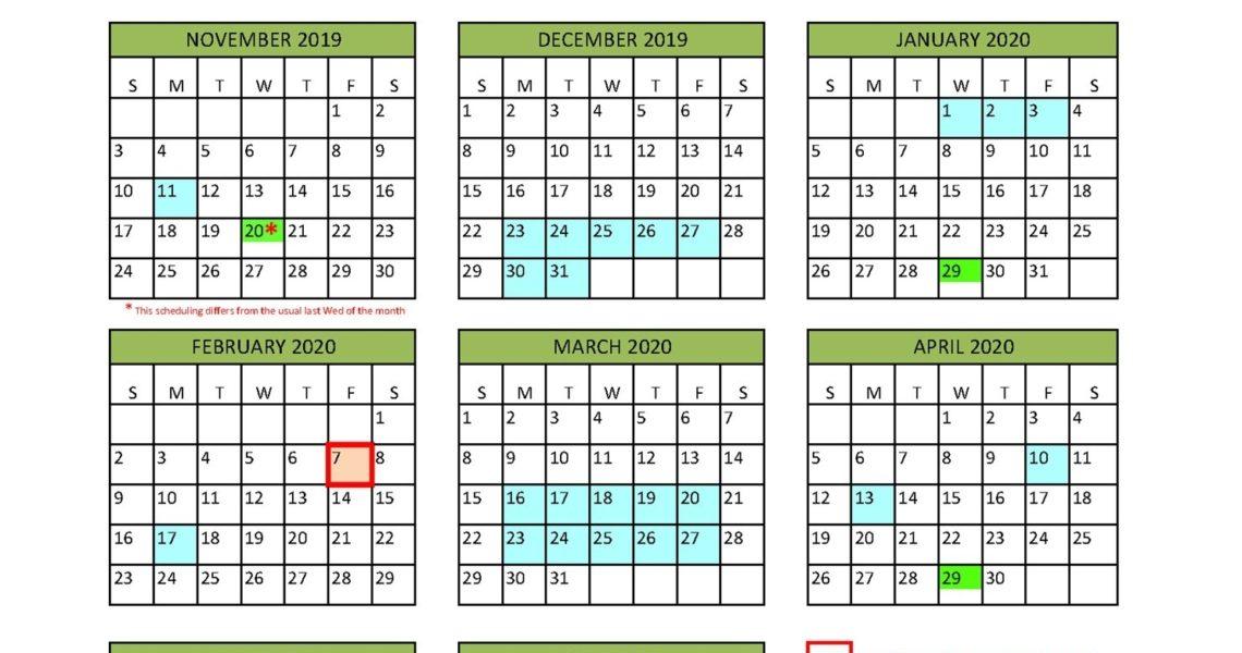 District Calendar - North Vancouver School District_U Of T School Calendar 2020