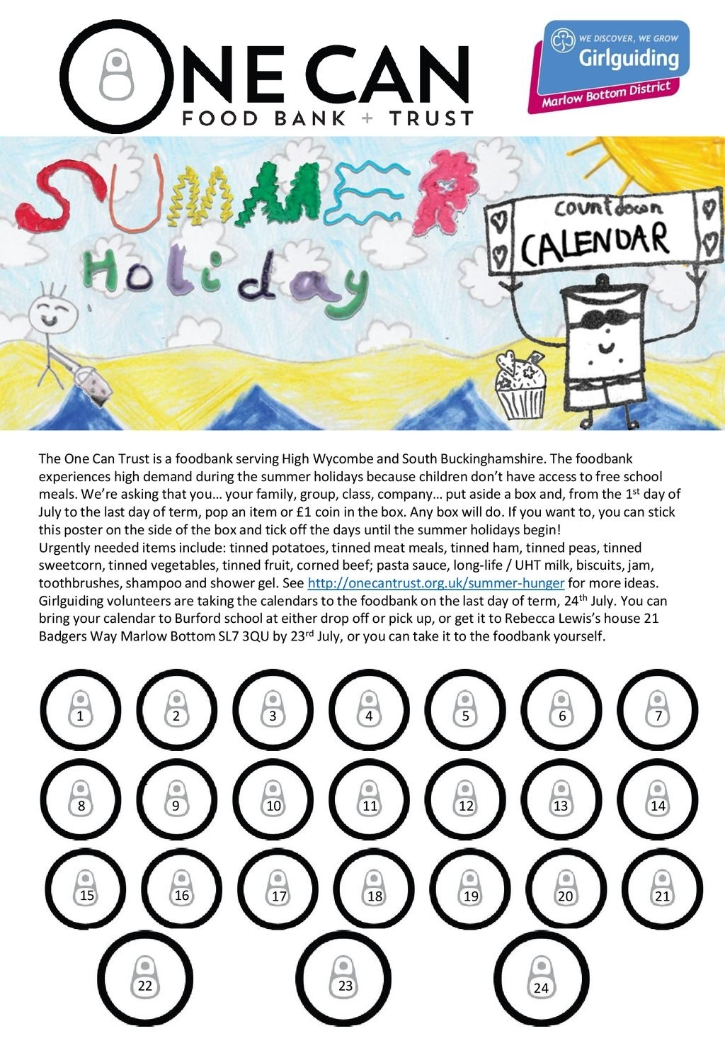 District Commissioners, Are You Looking For A Fun And Easy Way For_Countdown Calendar Summer Holiday