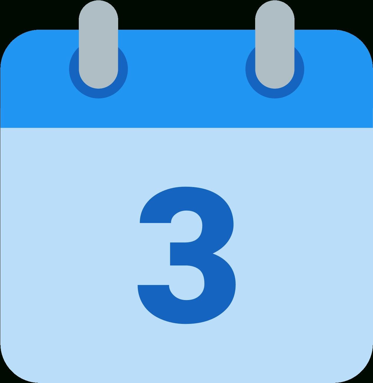 Download Calendar Icons Facebook - Calendar 2 Icon Png Png Image_Calendar Icon On Facebook