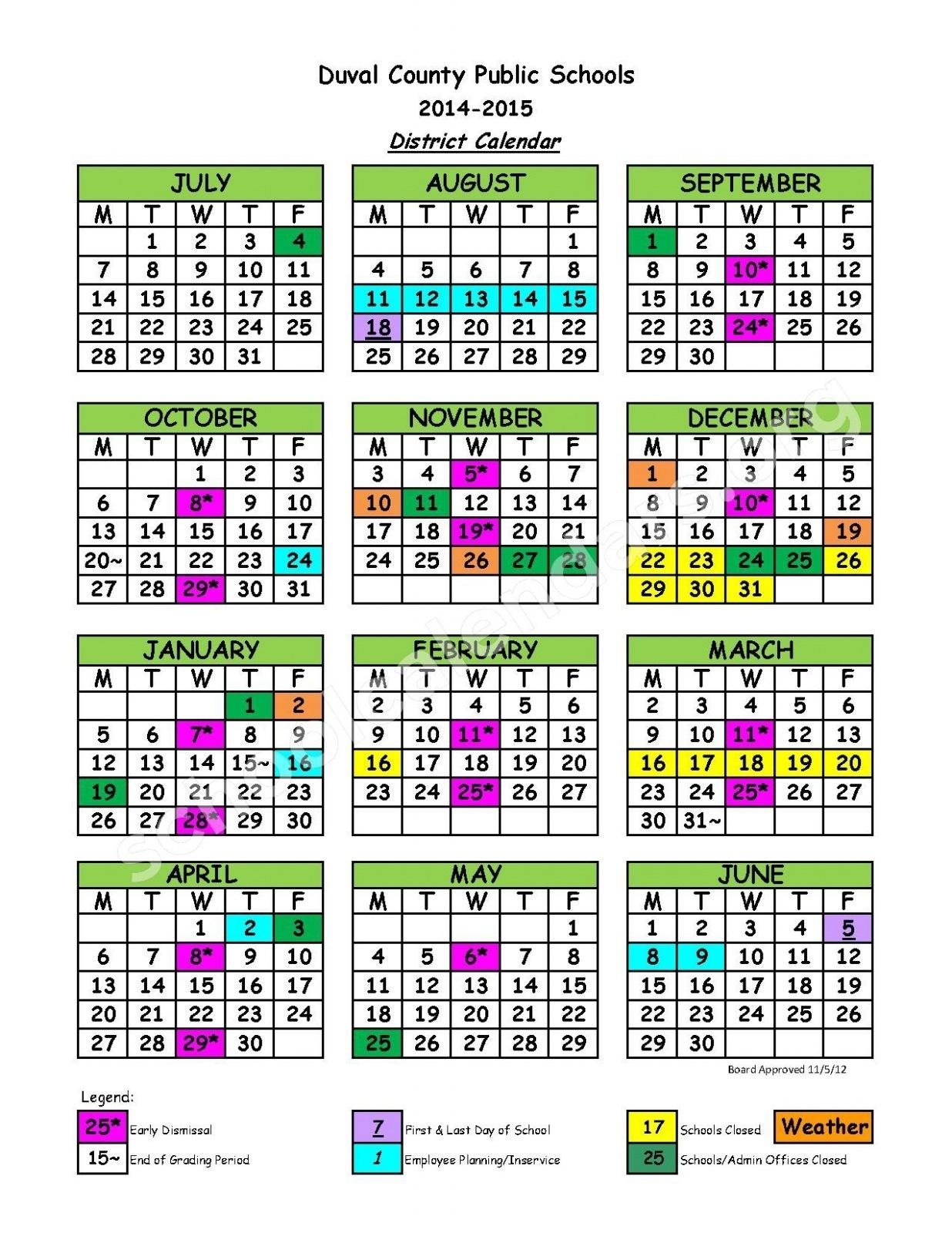 Duval County School Calendar Jacksonville Fl  </p>   </div>        <br>     <div class=