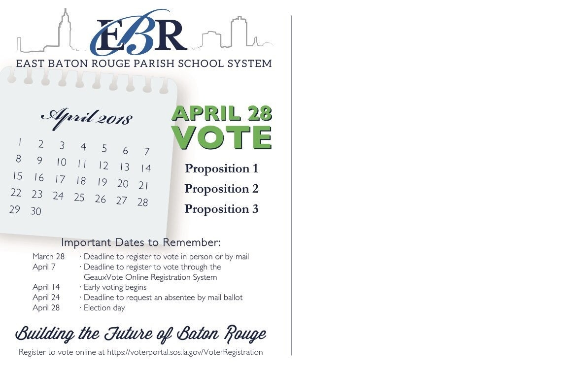 "Ebrp School System On Twitter: ""https://t.co/4Fbizrmcm7. Mark Your_School Calendar East Baton Rouge Parish"
