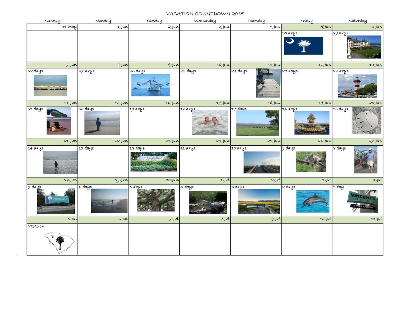 Excel Countdown Calendar - Bgadv_Deployment Countdown Calendar Excel