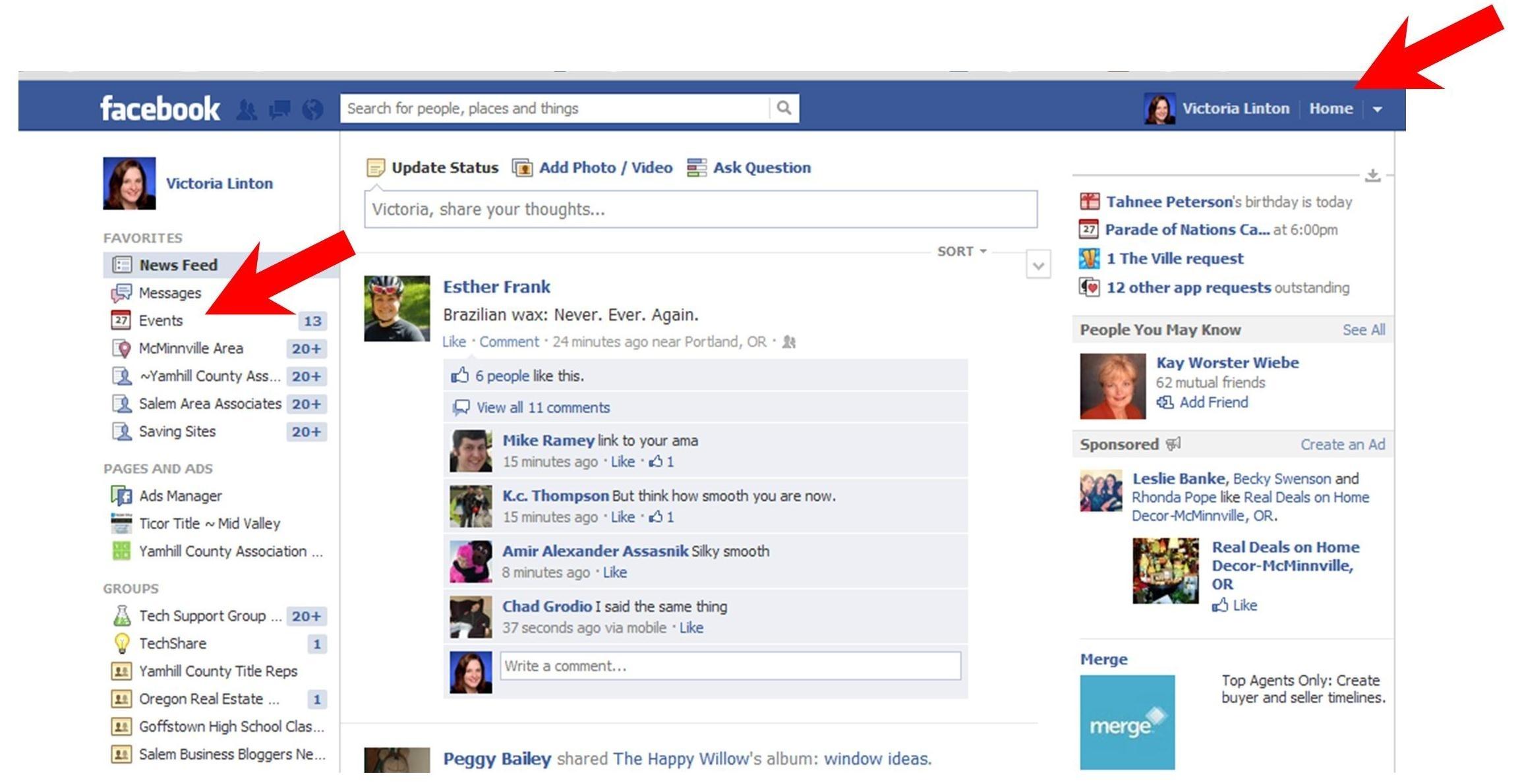 Export Facebook Birthday's In Outlook, Ical Or Google Calendar_Calendar Icon On Facebook