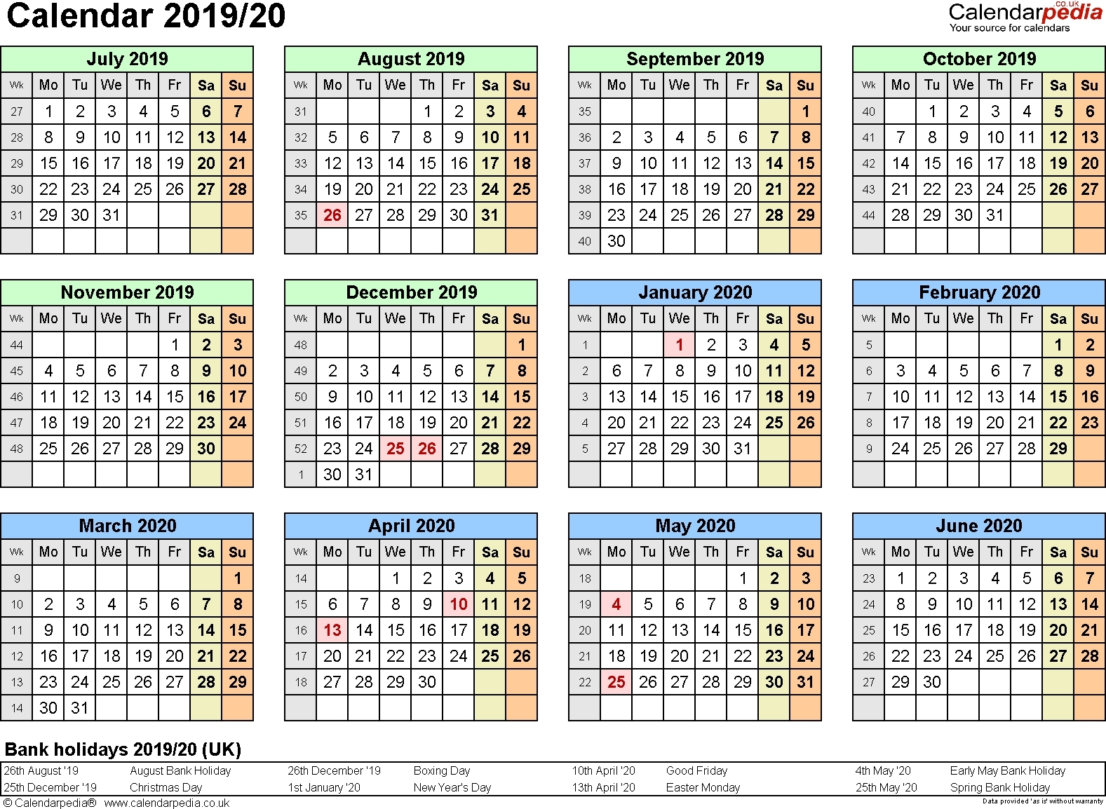 Extraordinary Calendar 2019 And 2020 Nz • Printable Blank Calendar_School Calendar 2020 Nz