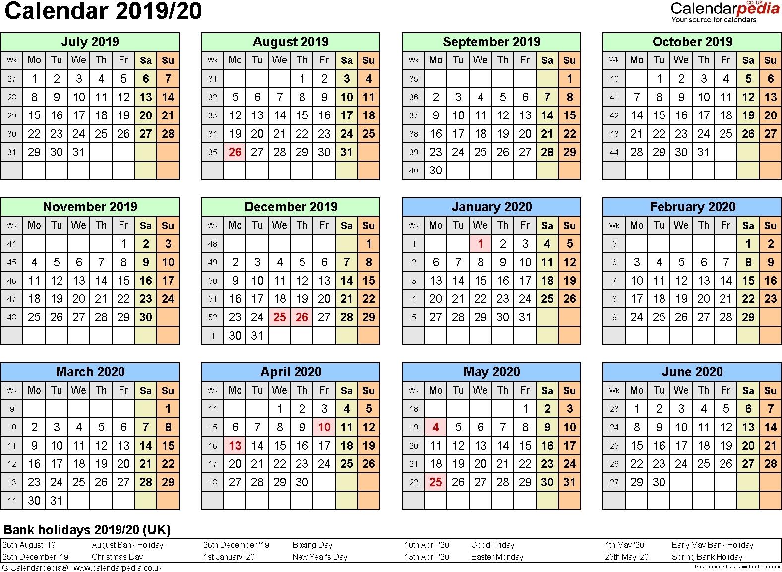 Extraordinary Calendar 2019 And 2020 Nz • Printable Blank Calendar_School Calendar Nz 2020