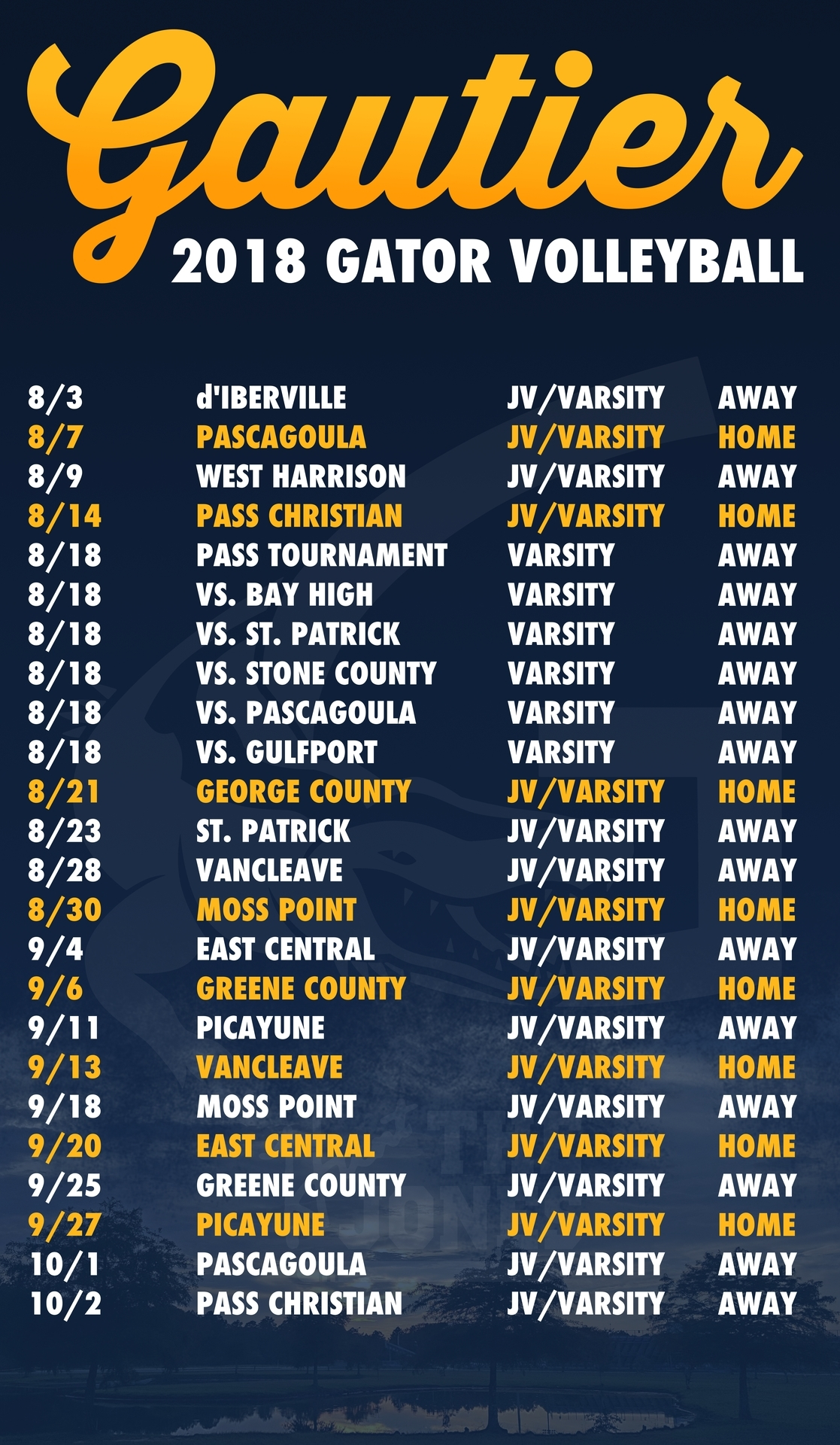 Extraordinary D'iberville High School Calendar • Printable Blank_D'iberville High School Calendar