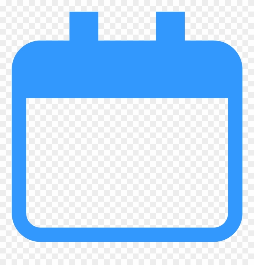 Feedbin Icon Calendar - Calendar Icon Blank Png Clipart (#1777457_Calendar Icon Png Blue