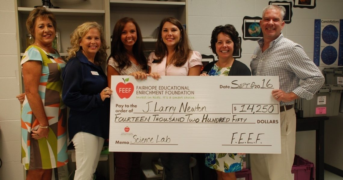 Feef Donates To Fairhope Schools | Gulfcoastnewstoday_J Larry Newton School Calendar