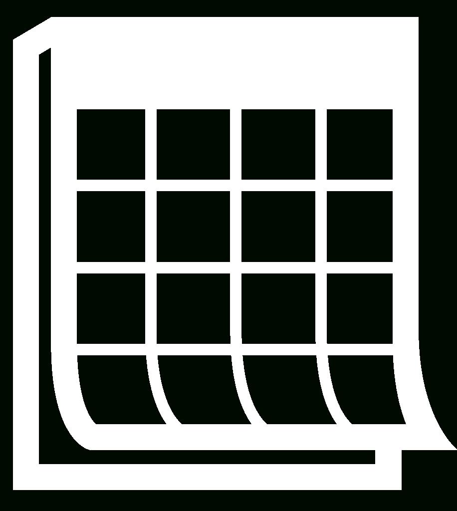 File:calendar Icon White.svg - Wikimedia Commons_Calendar Icon White Png