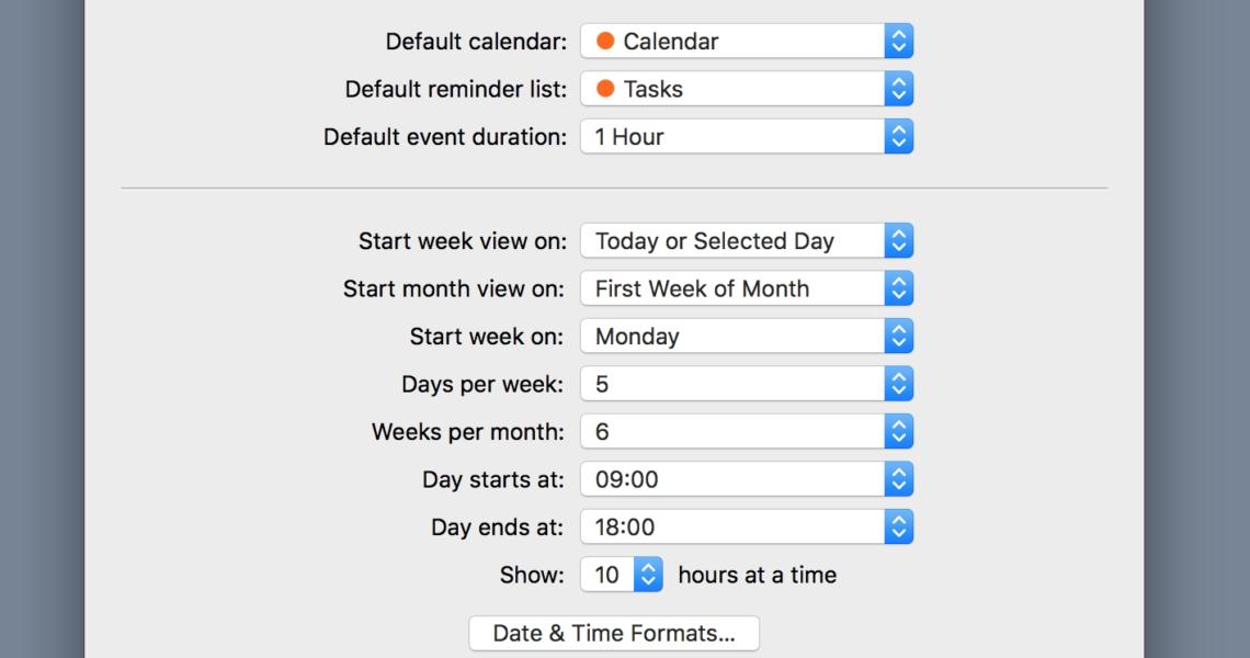 Flexibits | Fantastical 2 For Mac | Help_Calendar Icon Wrong Date