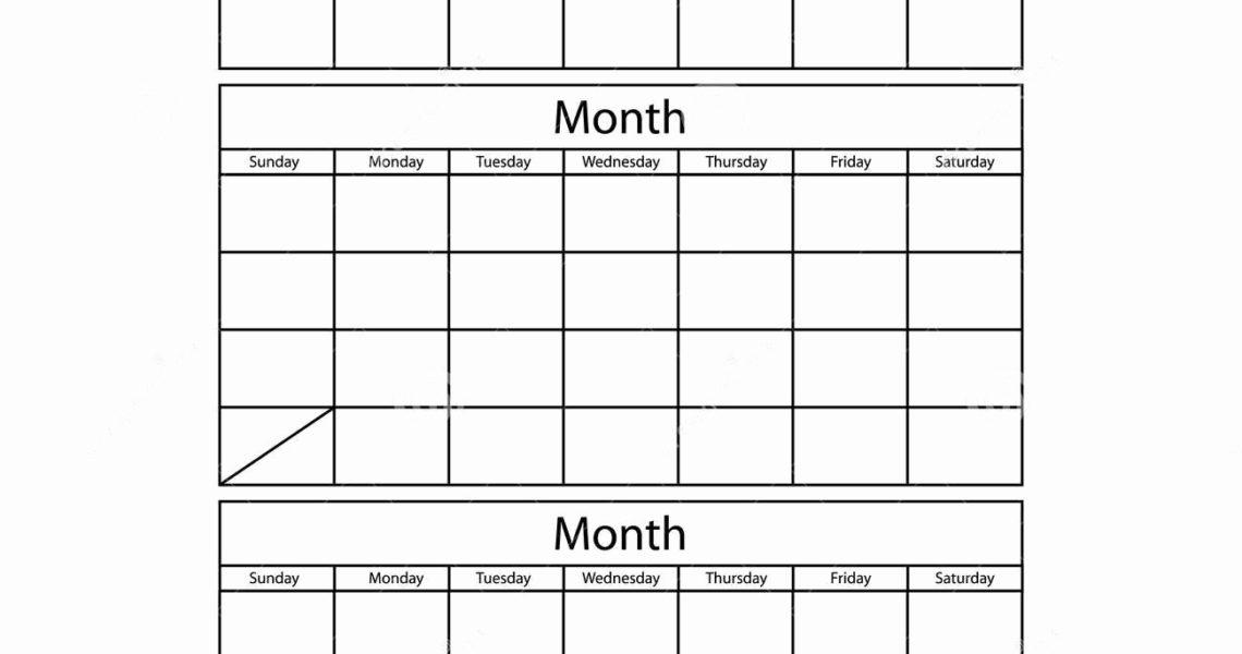 Free 3 Month Calendar Templates - Calendar Inspiration Design_3 Month Blank Calendar Template