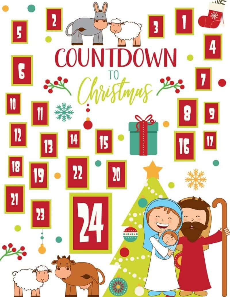 Free Printable Advent Calendar With Loads Of Fun Activities!  </p>   </div>        <br>     <div class=