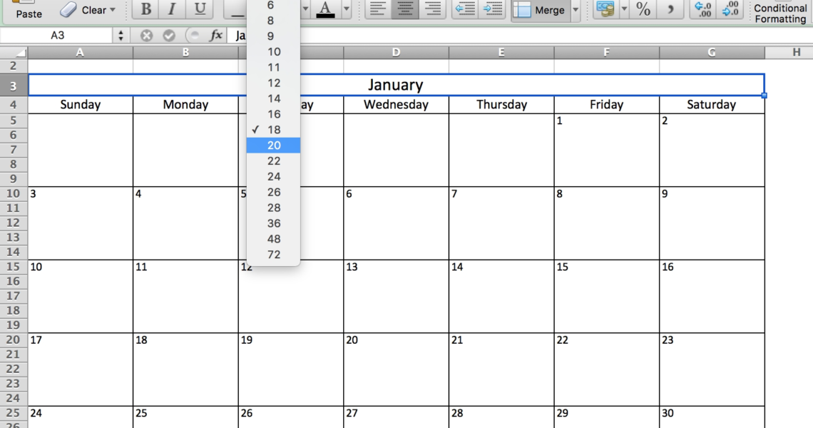 Free, Printable Excel Calendar Templates For 2019 & On | Smartsheet_Calendar Icon In Excel 2019