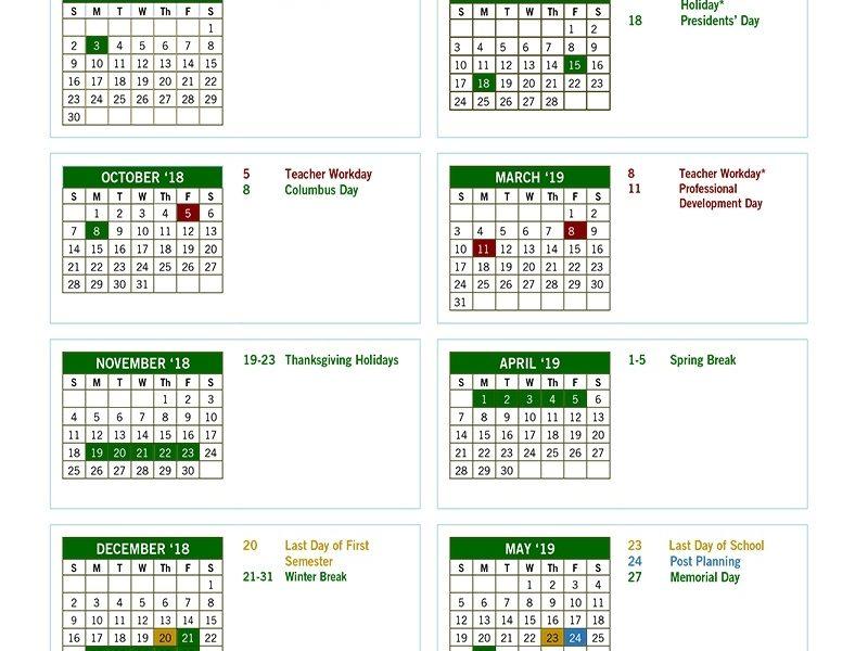 Fulton County Schools Calendar 2018-19 | Atlanta's News & Talk_School Calendar Fulton County