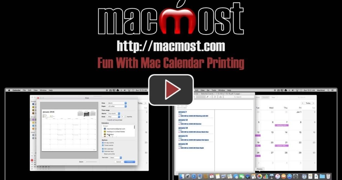 Fun With Mac Calendar Printing (#1163)_Calendar Printing Software For Mac