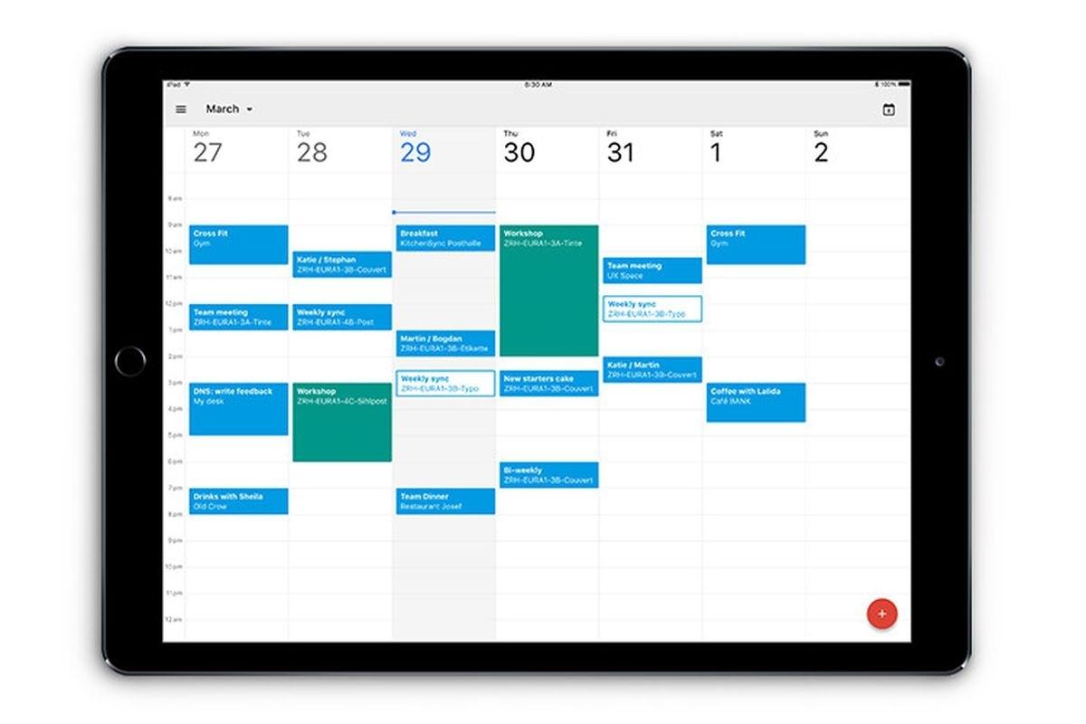 Google Calendar Finally Has A Proper Ipad App - The Verge_Calendar Blank On Ipad