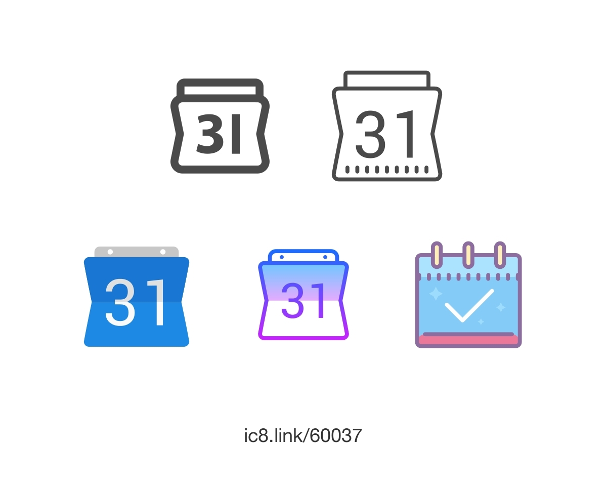 Google Calendar Icon Round • Printable Blank Calendar Template_Google Calendar Icon Round