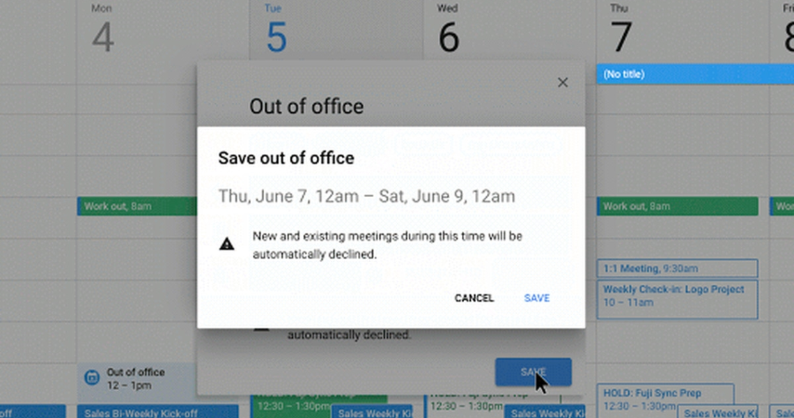 Google Calendar Now Has An 'out Of Office' Option - The Verge_Google Calendar Icon Event