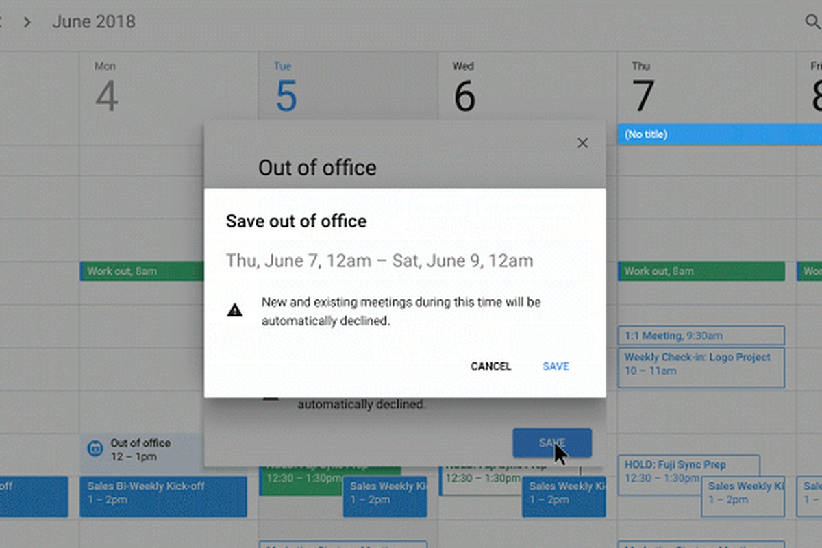 Google Calendar Now Has An 'out Of Office' Option - The Verge_My Calendar Icon Has Disappeared