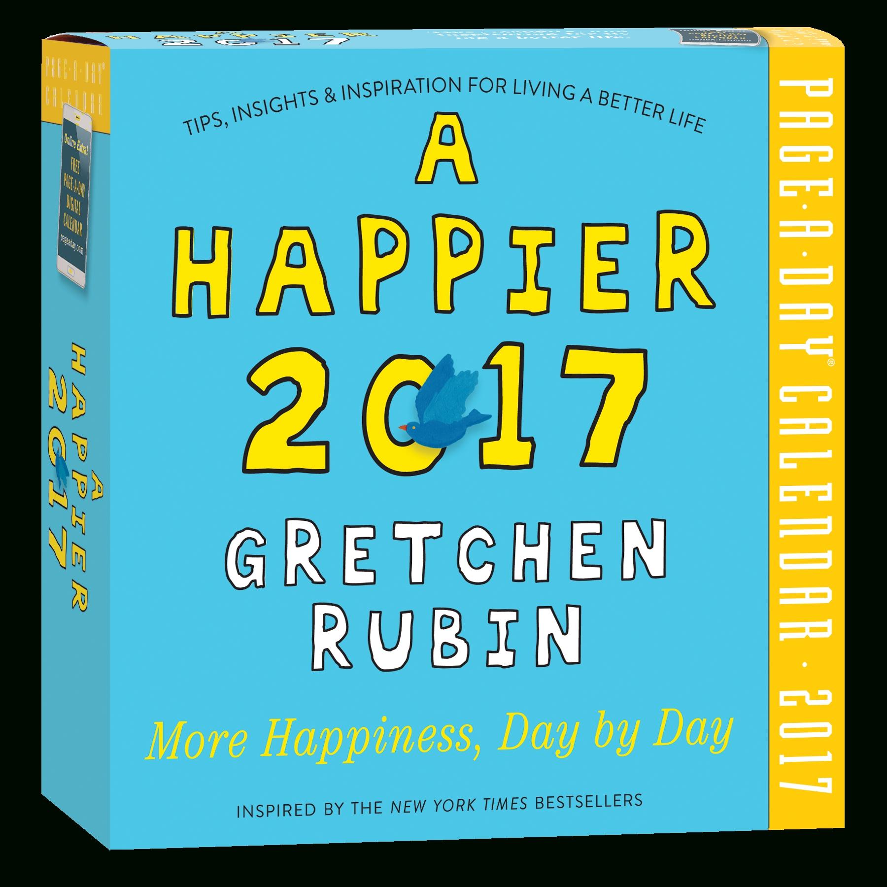 Gretchen Rubin_Page A Day Calendar Printing