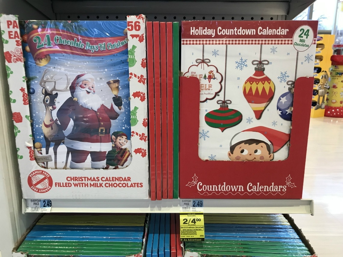 Holiday Countdown Calendar, Only $1.50 At Rite Aid! - A Couponer's Life_Calendar Countdown To Buy